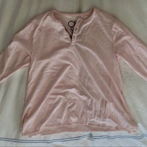 Chaser Shirts & Tops - kids chaser blush pink long sleeve